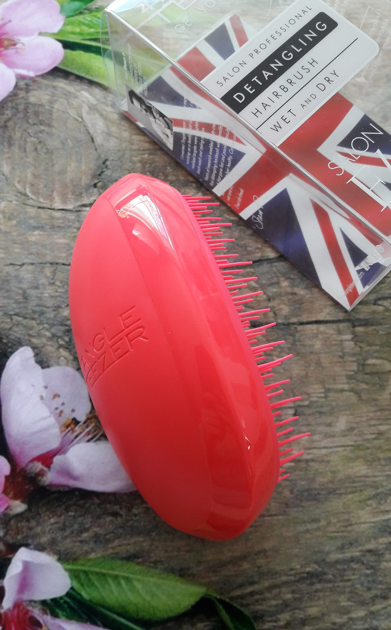 Расческа Tangle Teezer Salon Elite - Dolly Pink