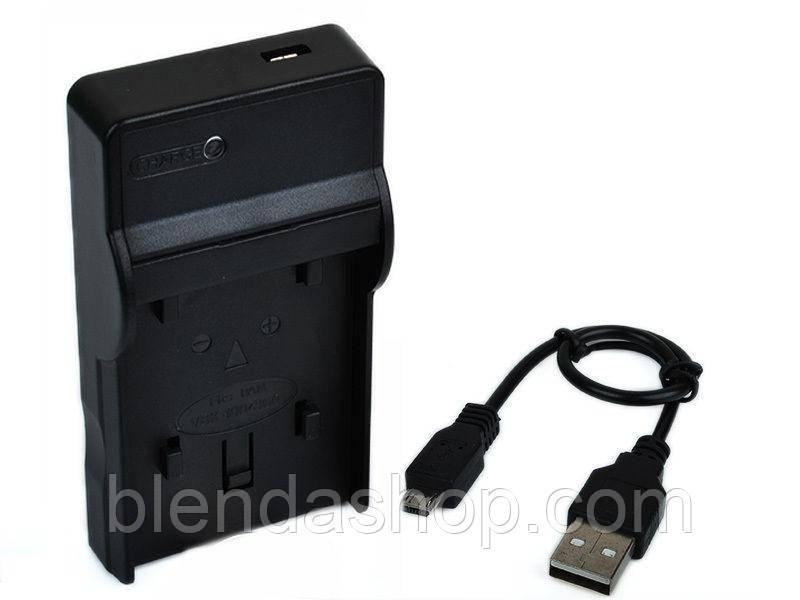 Зарядное устройство с micro USB - аналог для Pentax (акб D-LI106, NP-70, CGA-S005, DMW-BCC12, BP-DC4, DB-60)