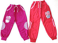 Детские утепленные спортивные штаны для девочки