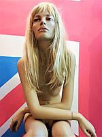 Манекен женский сидячий реалистичный