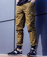 Мужские брюки джоггеры Jogger (коричневые)