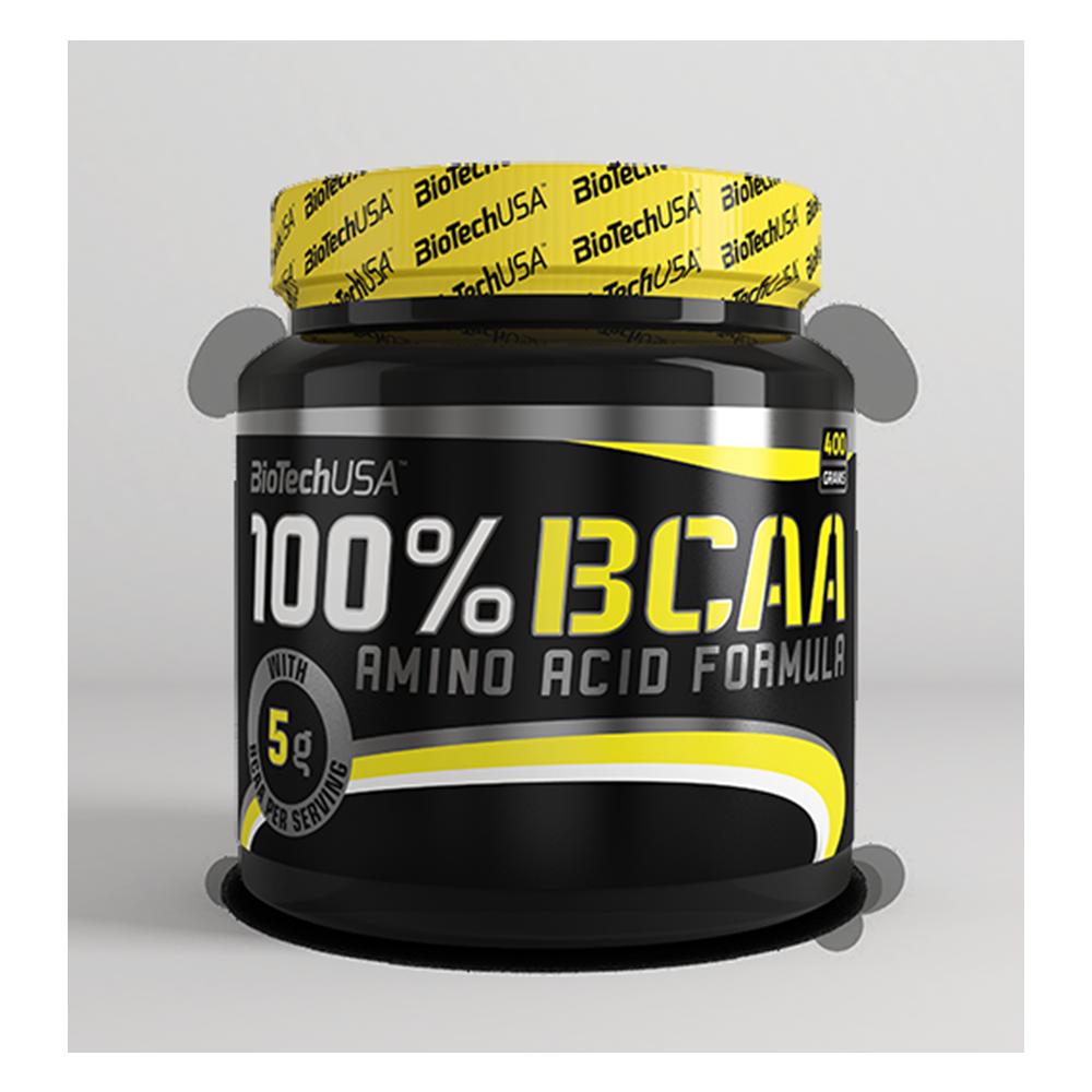 BioTech 100% BCAA 400 g, Биотеч 100% БЦА 400 грамм