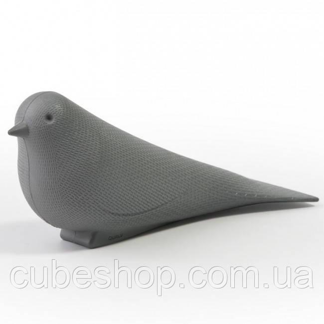 Стоппер для двери Dove Qualy (серый)
