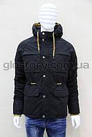 Куртка мужская Glo-story черного цвета
