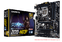 "Материнская плата GIGABYTE GA-Z170-HD3P s.1151 DDR4 ""Over-Stock"""