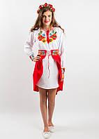"""Вишитий костюм для дівчинки """"Український букет"""" (підліток)"""