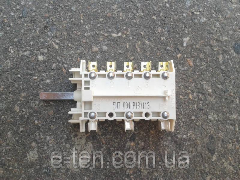 Переключатель ПМ 034 (5HT 034) семипозиционный для электроплит        Италия