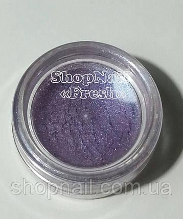 Бархатный песок перламутровый, фиолетовый, фото 2