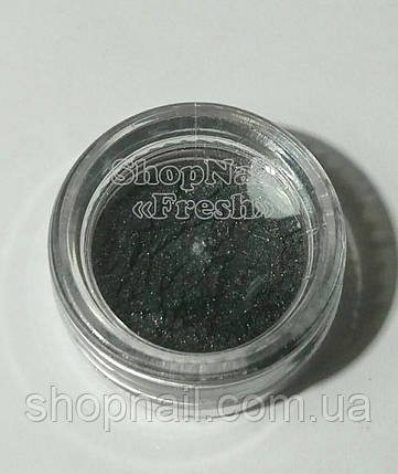 Бархатный песок перламутровый, черный, фото 2