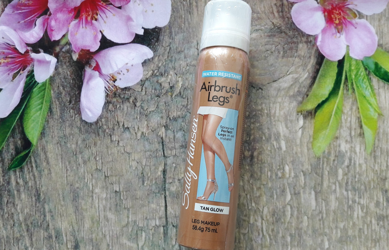 Жидкие колготки спрей Sally Hansen Airbrush Legs tan glow