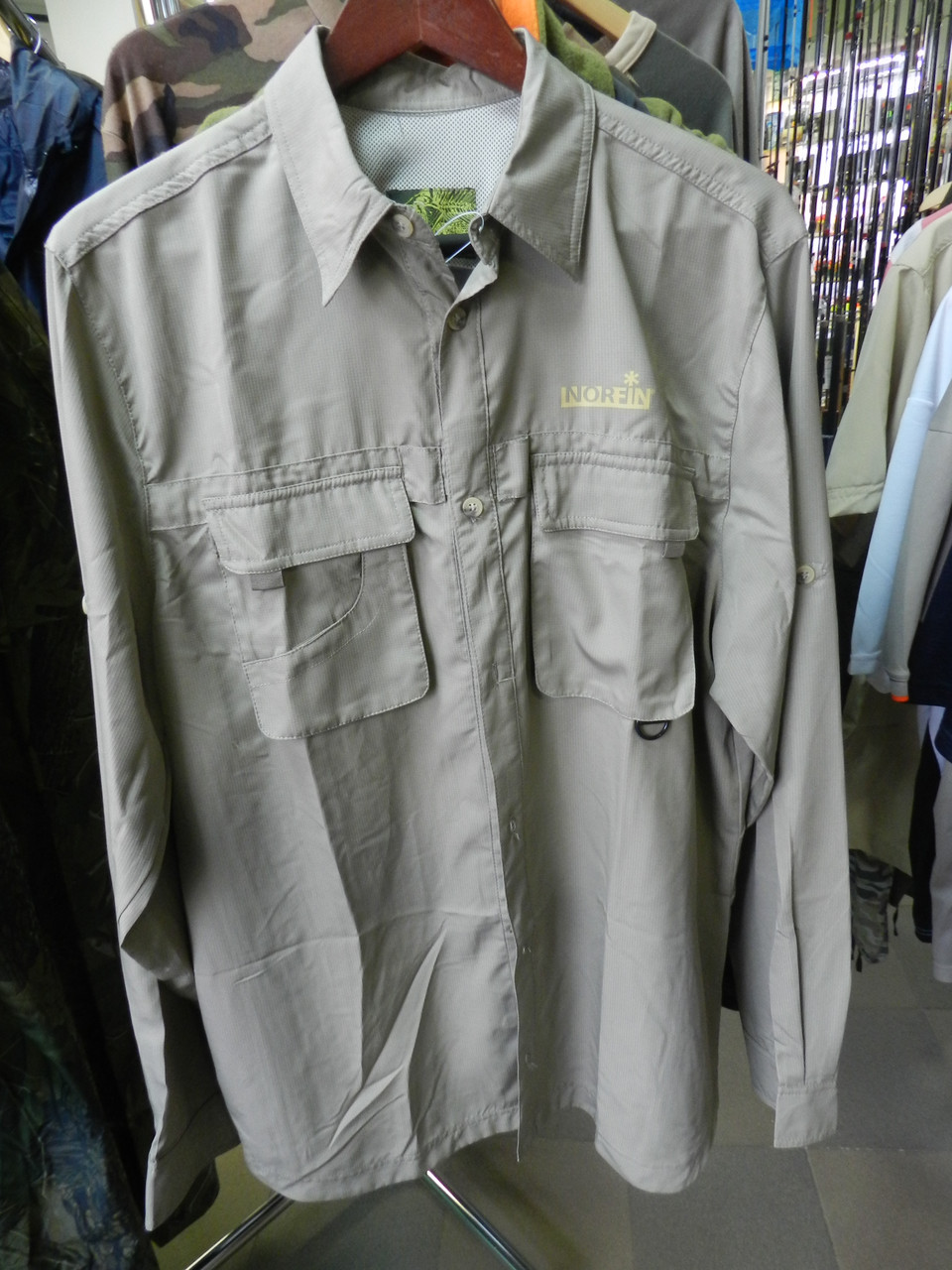 Рубашка NORFIN Cool Long