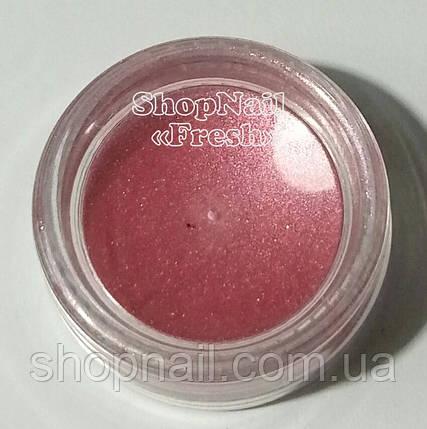 Бархатный песок перламутровый, розово-золотистый, фото 2