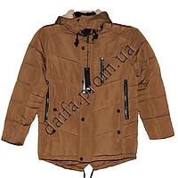 Зимняя куртка на синтепоне+ искусственный мех C1753-1g (5-12 лет) оптом в Одессе (7км).