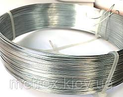Проволока вязальная стальная оцинкованная 0.8 мм., 100 м.