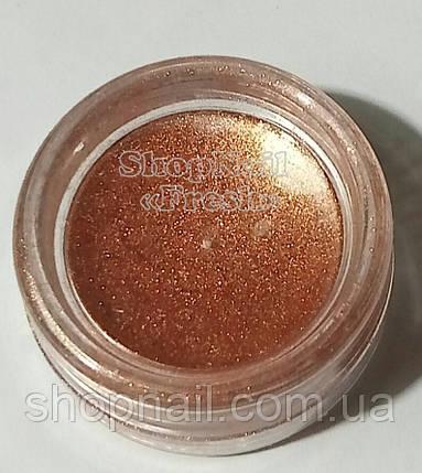 Бархатный песок перламутровый, золотистый, фото 2