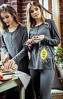 Жіноча піжама з довгим рукавом Key LNS 814