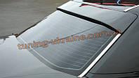 Спойлер-бленда на стекло из стеклопластика на Mercedes 190 W201