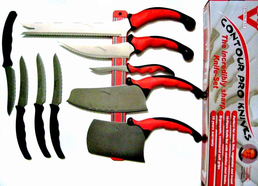 Набор ножей CONTOUR PRO 11 в 1