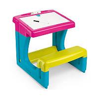 Парта детская со скамейкой Smoby 420102
