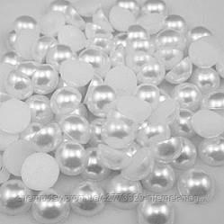 Напів-перли 6 мм уп. 250 г Білі