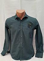 Стильная кашемировая рубашка  на мальчиков 134,152,158,170 роста ELEGANCE