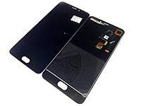 Модуль для Meizu M3e (A680H) Дисплей + тачскрин, чёрный оригинал