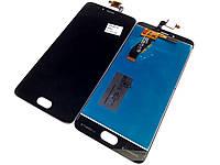 Модуль для Meizu M5s, M5s mini (Дисплей + тачскрин), чёрный оригинал PRC