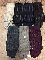 Вязание шерсти Трикотаж качество женские перчатки Anna-мода/женские перчатки только оптом