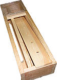 Кормушка деревянная 1,5л, фото 2