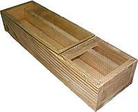Кормушка деревянная 1,5 л. , фото 1