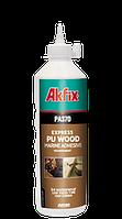 Водостойкий полиуретановый клей для дерева  Akfix PA370 560гр