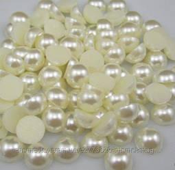 Напів-перли 6 мм уп. 250 г Айворі