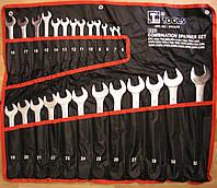 Набор ключей рожково-накидных хромированные 25 шт.