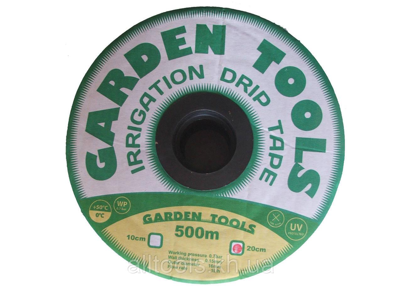"Капельная лента щелевая ""Garden Tools"" 1000м 10см"