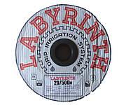 """Капельная лента щелевая """"LABYRINTH"""" 1000м 20см"""