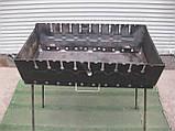 Мангал - чемодан на 10 шампуров, фото 3