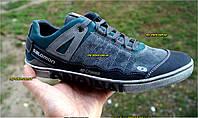 Мужские кожанные туфли  кроссовки  Salomon  .40.41.42.43.44.45