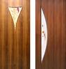 Двери межкомнатные Рюмка 2 ПВХ СС+ФП, Парус СС+КР