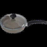 Сковорода с антипригарным покрытием светлый гранит Talko, 22 см