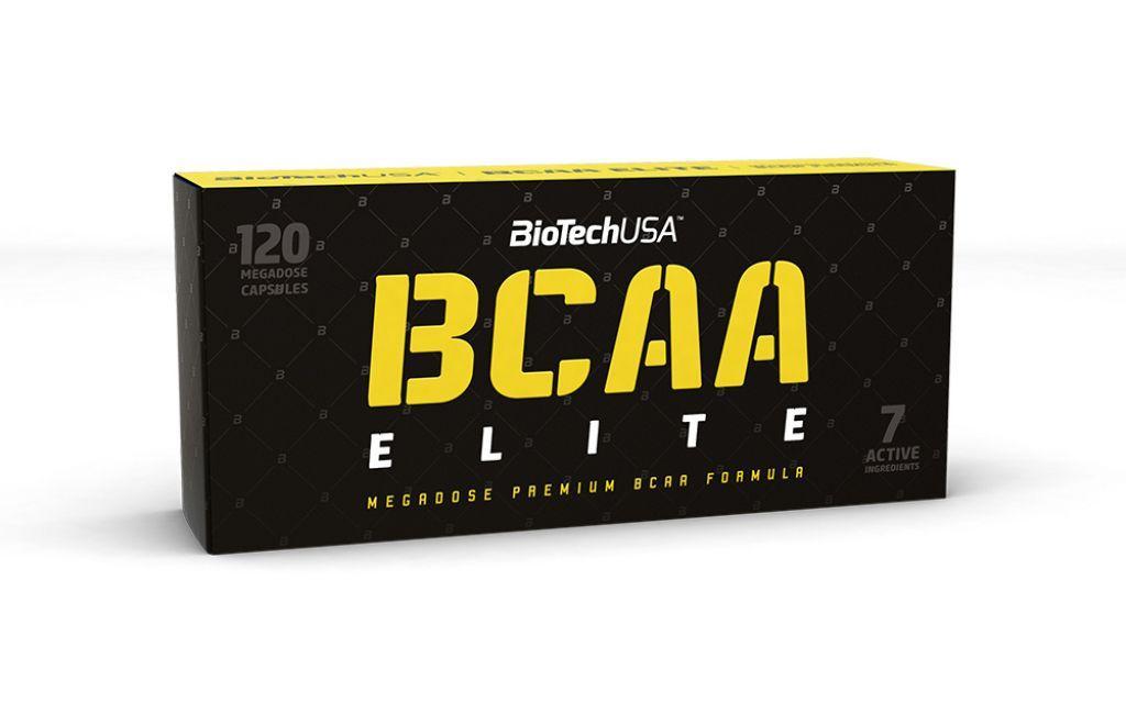 BioTech BCAA Elite 120 caps, Биотеч БЦА Элит 120 капсул