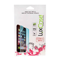 Плёнка защитная LuxCase для APPLE iPhone 6/6S Plus (5.5), прозрачная, в бумажной упаковке 3D, на весь экран