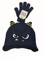 Набор шапка и перчатки зимние для мальчика