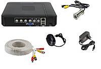 Комплект видеонаблюдения видеоглазок дверной K-701 с регистратором