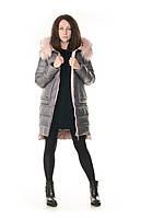 Женская зимняя куртка с натуральным мехом Wow ladykaka