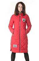 Красная женская зимняя куртка Ladykaka, фото 1