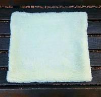 Накидка на стул из  овчины 40х40см опт
