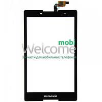 Сенсор (тач скрин) Lenovo A8-50F Tab 2 black (оригинал)