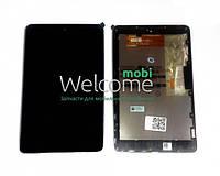 Модуль Asus Nexus 7 google,me370 black  (оригинал) с рамкой 1 поколение (2012) дисплей экран, сенсор тач скрин для планшета