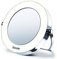 Настольное косметическое зеркало (хромированное покрытие)