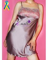 Сорочка пепельно розовая JULIA (JU259)